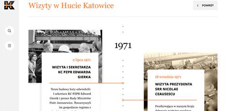 Historia huty